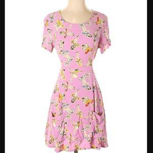 "Super rad 1990's Betsey Johnson ""Springmaid"" dress"